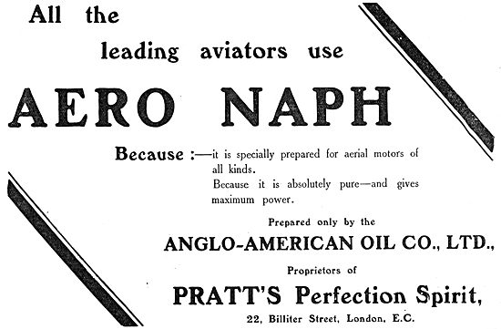Pratts Aviation Spirit - Aero Naph