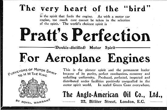 Pratts Aviation Spirit At The Vey Heart Of The Bird