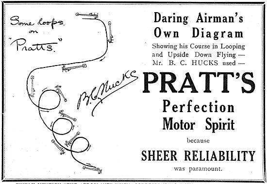 Pratts Aviation Spirit - See Hucks Looping The Loop Diagram