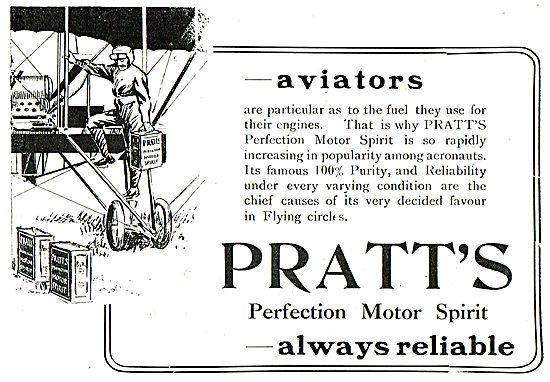 Pratts Aviation Spirit - 100% Pure & Reliable
