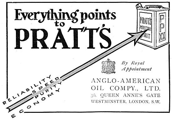 Pratts Aviation Spirit - Pratts Petrol