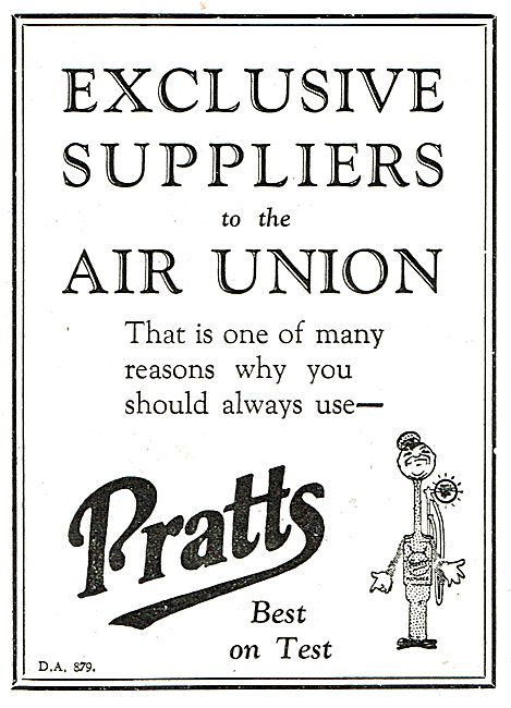 Pratts - Exclusive Suppliers To The Air Union