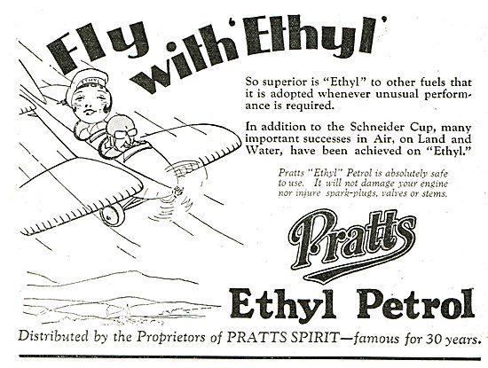 Pratts Aviation Spirit - Fly With Ethyl.