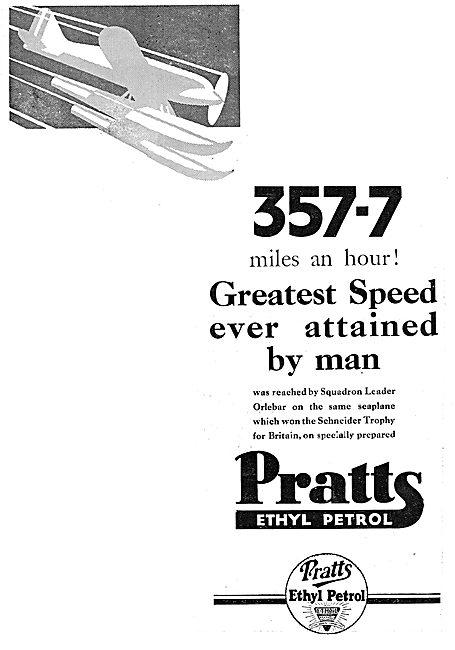 357 MPH On Pratts Ethyl Petrol