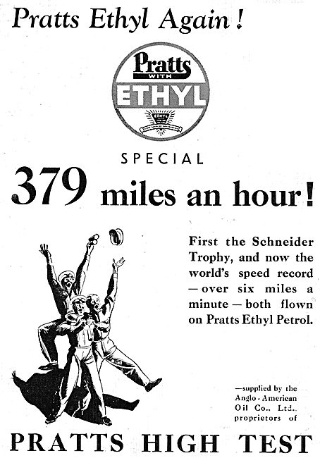 Pratts Ethyl Aviation Fuel