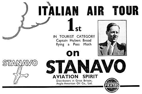 Pratts Stanavo Aviation Spirit