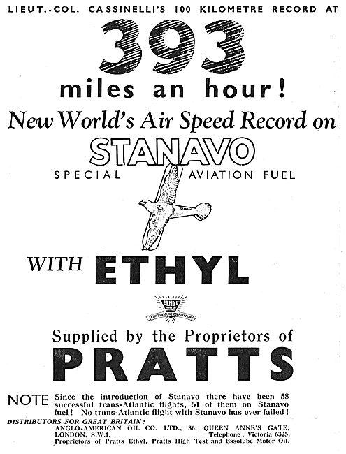 393 mph Using Stanavo Fuel