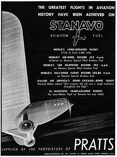 Pratts Stanavo Aviation Spirit - Great Flights