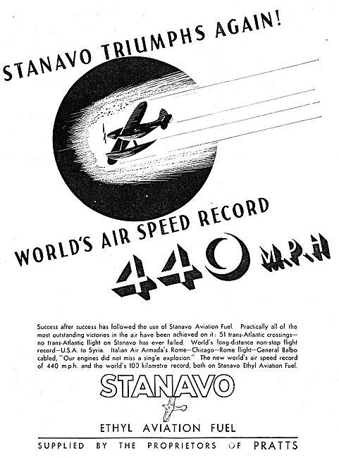 Pratts Ethyl  Aviation Spirit - Stanavo