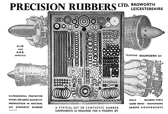 Precision Rubbers AID & ARB Approved Rubber Components