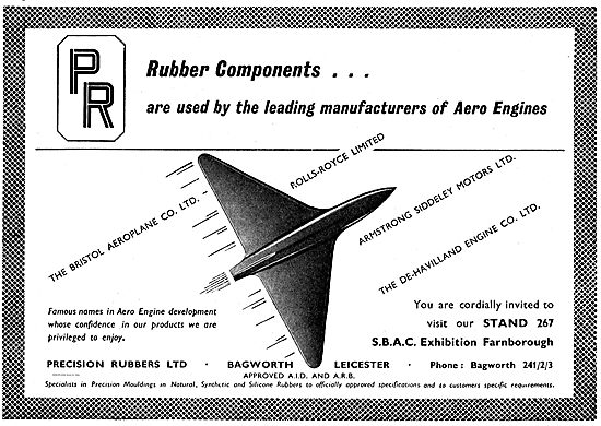 Precision Rubbers Components For Aero Engine Manufacturers