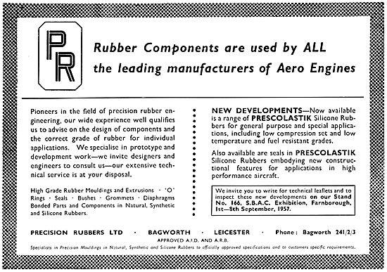 Precision Rubbers - Rubber Components