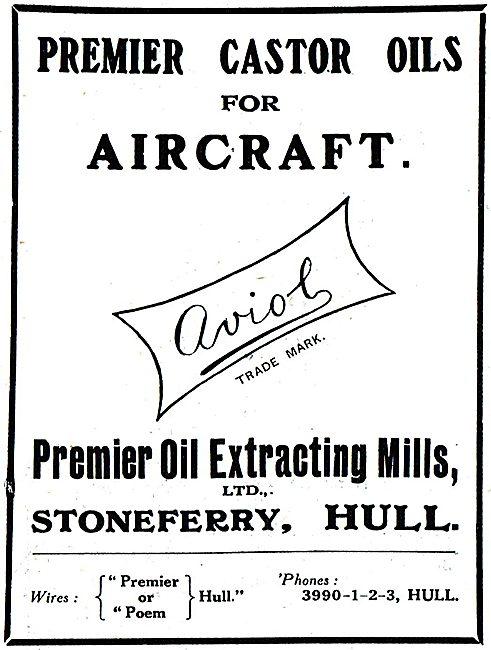 Premier Oil Extracting Mills - AVIOL Castor Oil