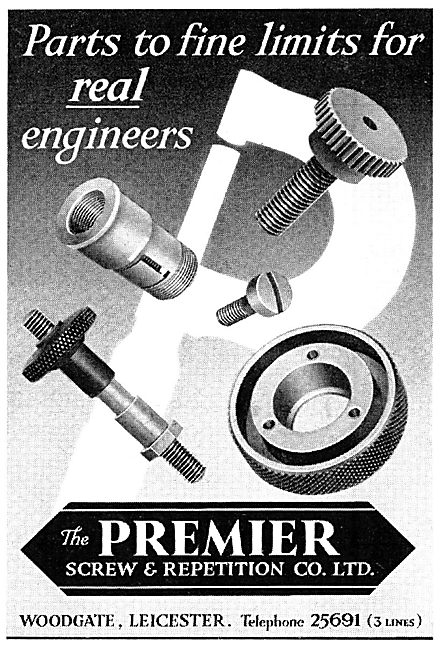 The Premier Screw & Repetition Co Ltd - AGS. Repetition Parts