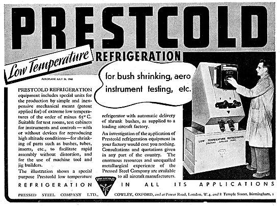 Prestcold Refrigeration Machines