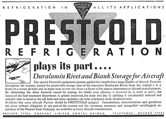 Pressed Steel Company - Prestcold Refrigeration Equipment