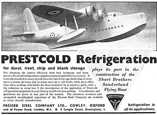 Pressed Steel Company - Prestcold Refrigeration Equipment