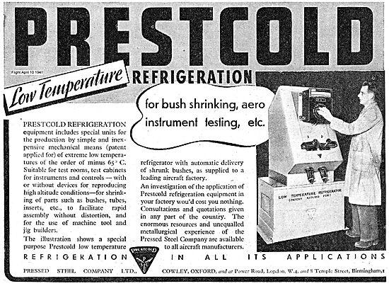 Prestcold Refrigeration For Bush Shrinking