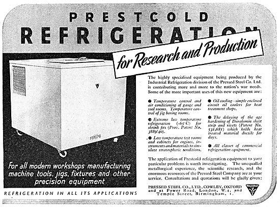 Prestcold Industrial Refrigeration