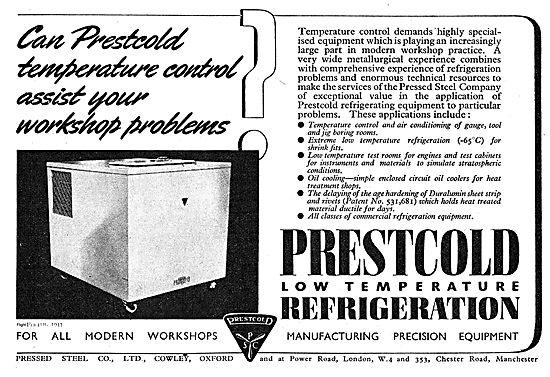 Prestcold Temperature Control For Workshops