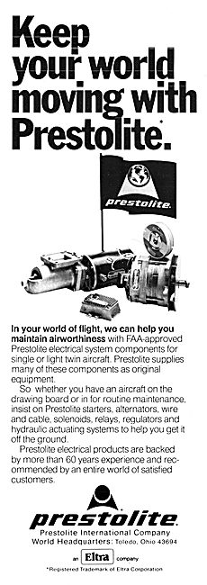Prestolite Electrical Systems Components