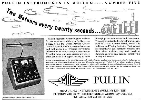Pullin Flight Instrumets. Pullin Measuring & Test Equipment