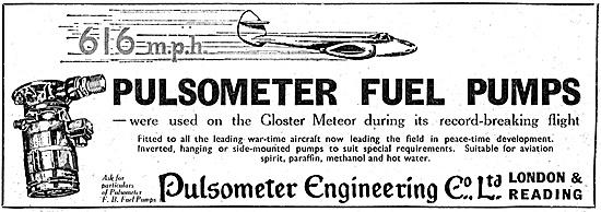 Pulsometer Fuel Pumps