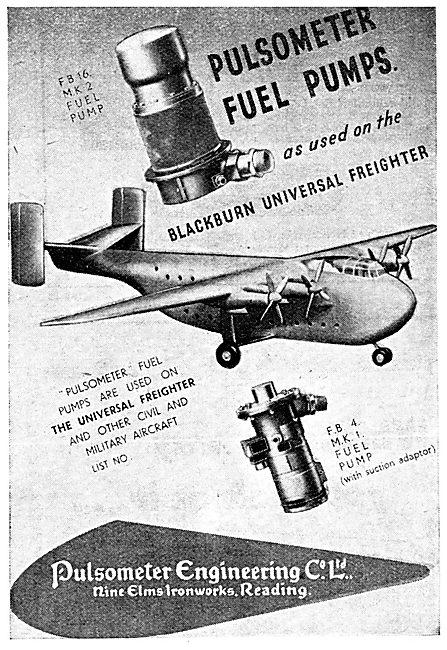 Pulsometer Engine Fuel Pumps