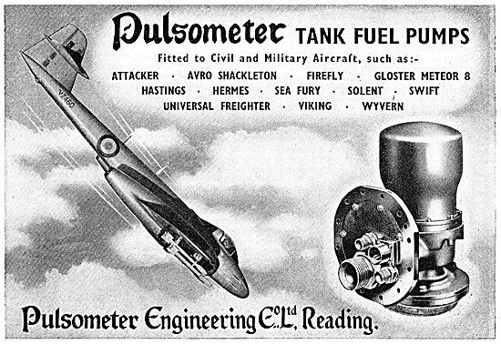 Pulsometer Tank Fuel Pumps