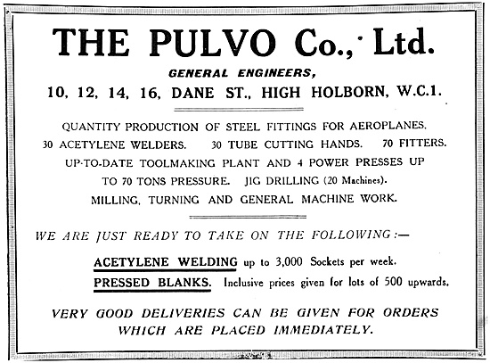 Pulvo Engineering 1917