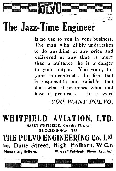 Pulvo Engineering Whitfield Aviation