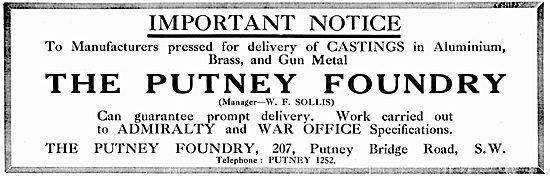 The Putney Foundry