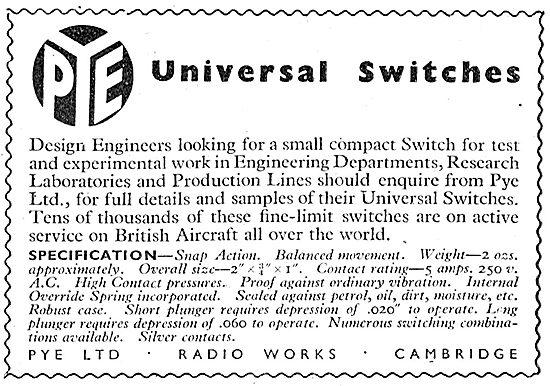 Pye Universal Switches