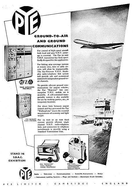 Pye VHF Ground To Air Comms