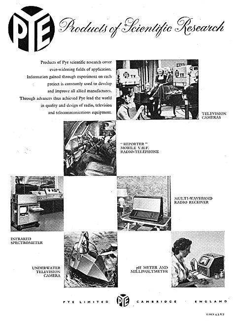 Pye Radio, Telecomms & Television Equipment