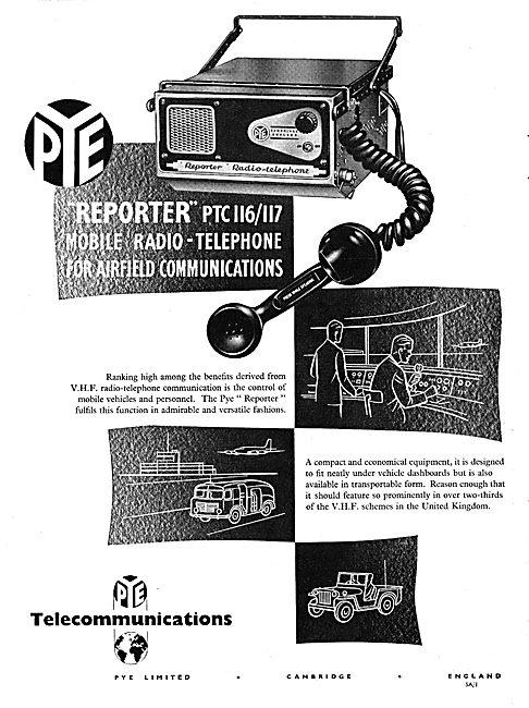 Pye Reporter PTC 116/117 Mobile Radio Telephone