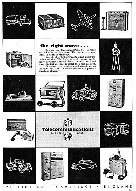 Pye Airfield Radio Telephones