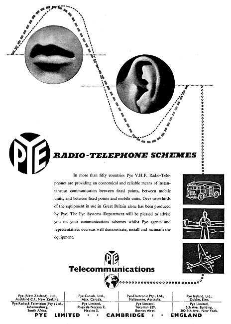 Pye VHF Radiotelephones