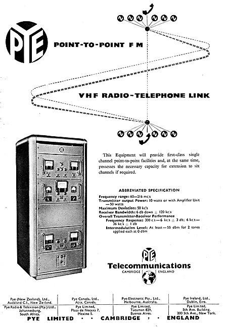 Pye VHF Radio Telephone Link