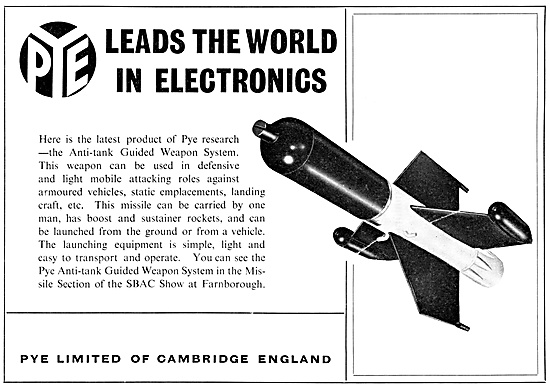 Pye Electronics For Guided Weapons