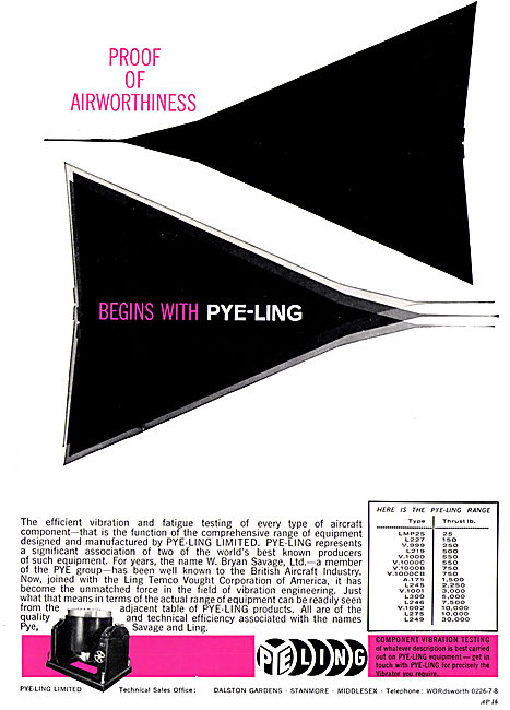 Pye-Ling Component Vibration Testing Equipment