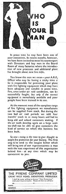 Pyrene Airfield Crash Tenders & Fire Fighting Equipment