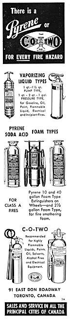 Pyrene Fire Extinguishers