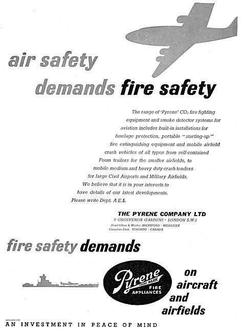 Pyrene CO2 & Smoke Detectors For Aircraft