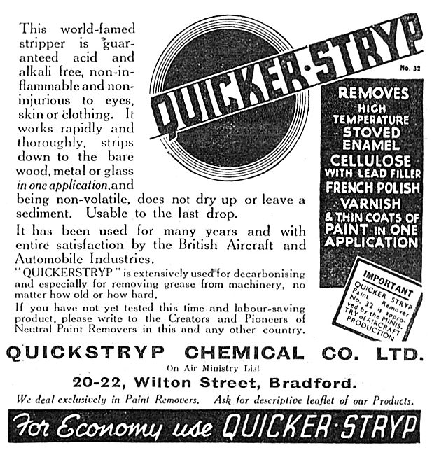 Quickstryp Paint Remover