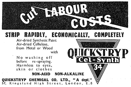 Quickstryp Cel-Synth Paint Stripper 1949