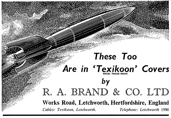 R.A.Brand Texikoon Protective Covers For Aircraft