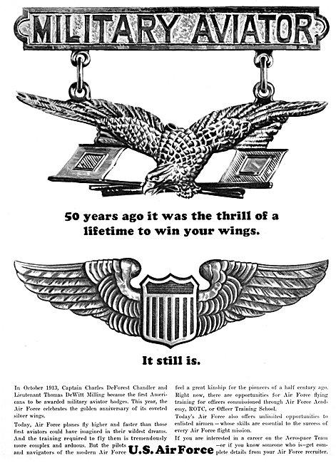 US Air Force Aircrew Recruitment 1963