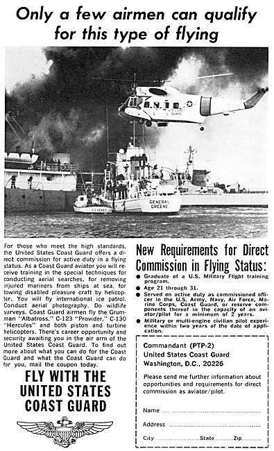 US Coastguard - United States Coastguard Pilot Recruitment