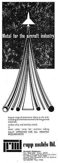 Leo Rapp Metal Suppliers - RAPP Metals